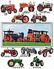 Tractors Tapestry Afghan**